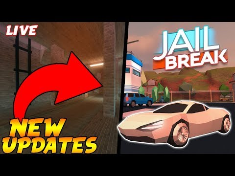 Roblox Jailbreak Live 🔴|NEW JAILBREAK PRISON ESCAPE UPDATE and other games!|join me!
