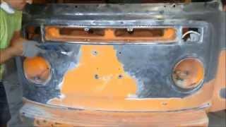 1973 VW Westfalia Bus Type 2 Restoration Part 1