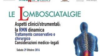 "Convegno ""Le Lombosciatalgie"" 29 Ottobre 2016"