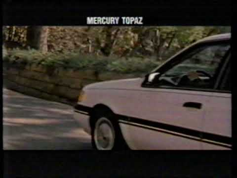 "1989 Mercury Topaz ""Nothing Moves You"" TV Commercial"