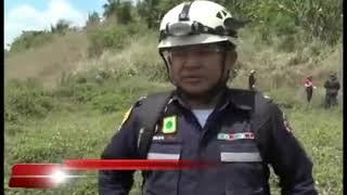 TRIZIDELA DO VALE: Corpo de bombeiros realiza treinamento de combate à incêndio.