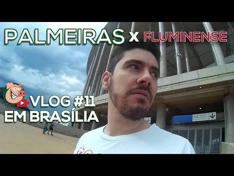 Fluminense 0 x 2 PALMEIRAS - TV Alviverde - #VLOG11 - BRASILEIRÃO 2016