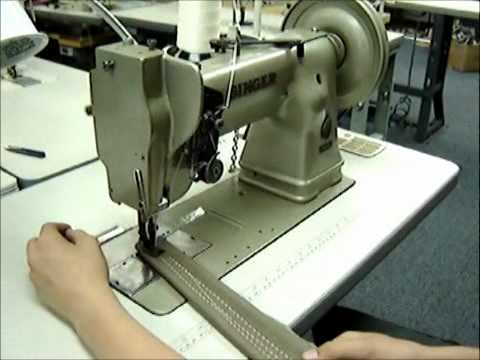 SINGER 40 Walking Foot Sewing Machine YouTube Magnificent Industrial Singer Sewing Machine For Sale