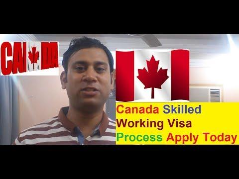 Canada Skilled Worker Visa Process