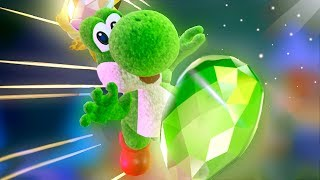 Yoshi's Crafted World All Cutscenes Movie - All 8 Short Movies Unlocked (Yoshi Theater)
