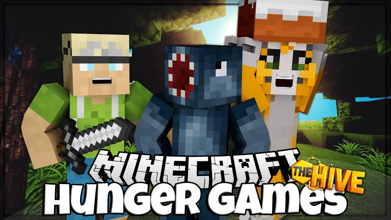 Minecraft PC - Hunger Games - W/Stampy + InTheLittleWood
