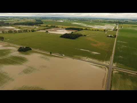 Mid-Michigan Flood | June 23rd, 2017 | Mount Pleasant, Midland, Bay, Huron