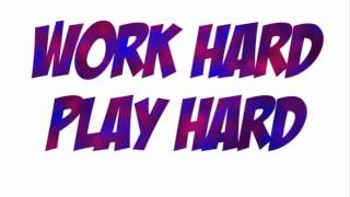 Work Hard Play Hard (Dubstep Remix) Wiz Khalifa Lazergang