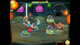 Palidin and rainbird   Angry Birds Epic Fri dungeon