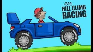 Хилл Клим Рейсинг раллийная машинка ставим новые рекорды скорости Hill Climb Racing