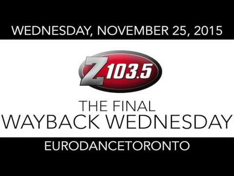 Z103.5 The Final Wayback Wednesday - November 25, 2015 - Eurodance