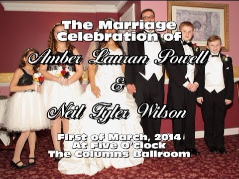 The Marriage of Amber Powell & Neil Wilson