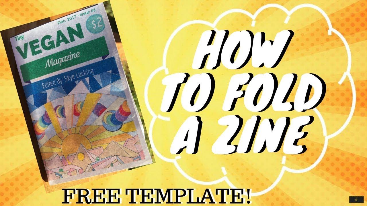 Fancy Mini Zine Template Mold - Professional Resume Examples - jiken ...