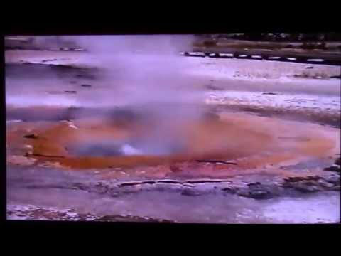 yellowstone 25 years ago pt 3 a very steamy  norris geyser basin