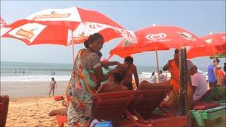 Candolim Beach Goa December 2017
