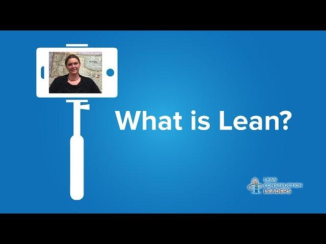Tearinie Arhip - What is Lean? - Part 1