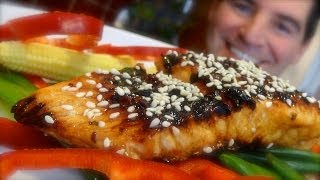 Ginger Soy Salmon: Healthy, colourful and full of flavour
