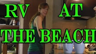 RV Camping Trip by the Beach Hunting Island State Park SC