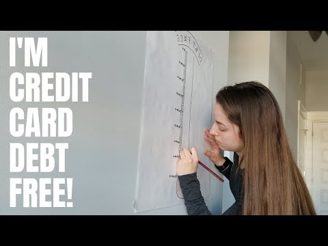 I'M CREDIT CARD DEBT FREE! Now What? | Credit Hacking, Debt Free Journey