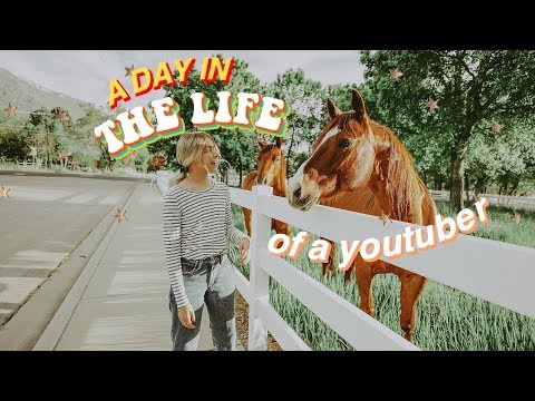 Day In The Life of A Teenage YouTuber!