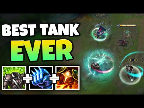 THE MOST BROKEN TANK IN THE GAME GOES TO... KARMA TOP? (MASSIVE SHIELDS) - League of Legends