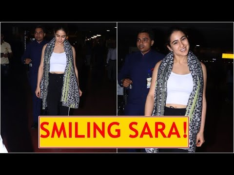 Sara Ali Khan returns to Mumbai with a big smile on her face post vacation in NYC Mp3