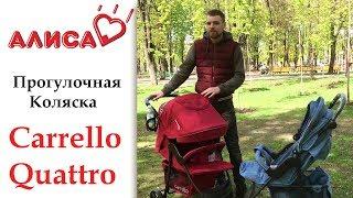 Детская прогулочная коляска Carrello Quattro Len CRL 8502 видео обзор
