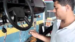 Curso de Instalação de  Alarmes Automotivo - Configurando Controle