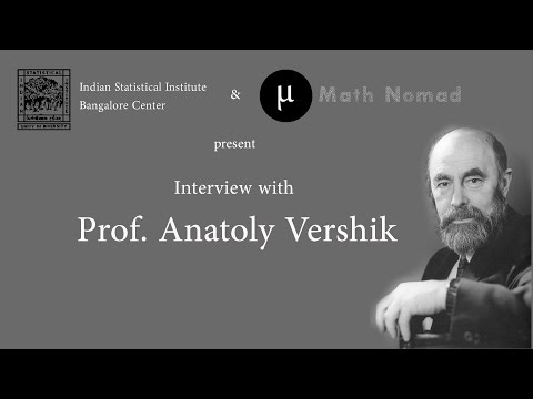 Interview with Prof. Anatoly Vershik