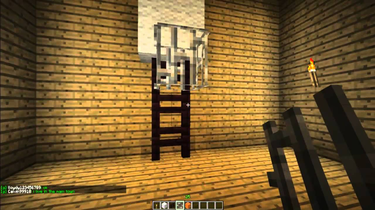 How To Make A Basketball Hoop In Minecraft Minecraft