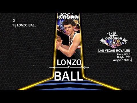NBA 2K18 PS4 Las Vegas MyLeague - WE GOT LONZO BALL ...