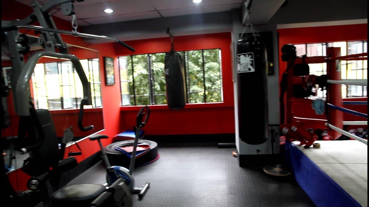 Interior Boxing Gym