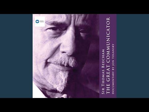 Beecham Live in Concert - Symphony No.2: Mvt 1 & 4 - Narration