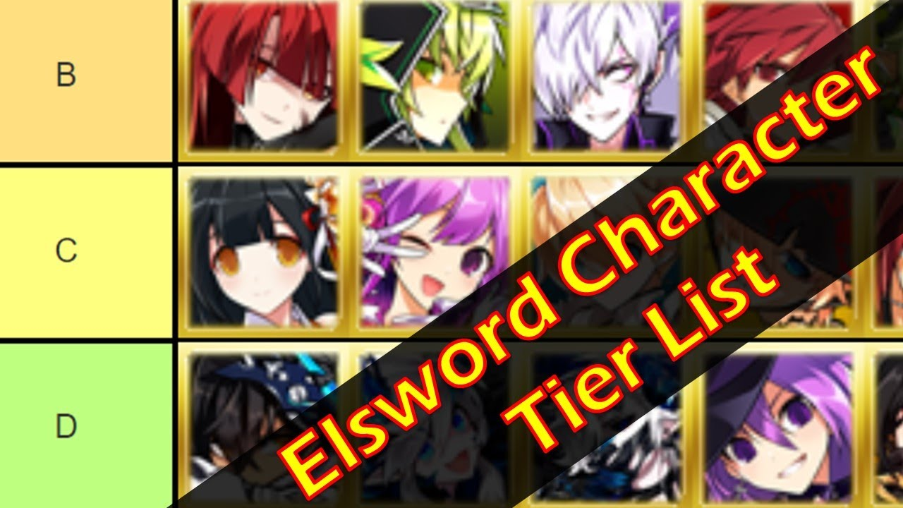 Elsword Tier List 2020.Elsword Tier List Characters