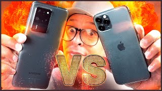 A REAL! SAMSUNG GALAXY 20 ULTRA vs IPHONE 11 PRO/MAX! Qual o melhor?