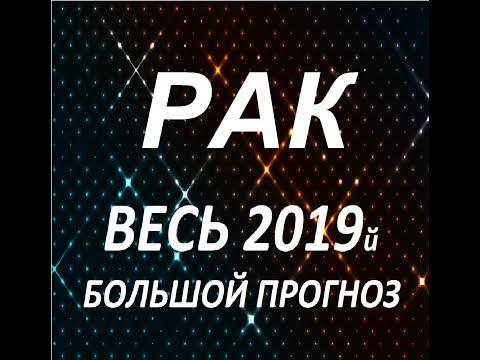 РАК ВЕСЬ 2019й БОЛЬШОЙ ПРОГНОЗ от Агаты Добровской