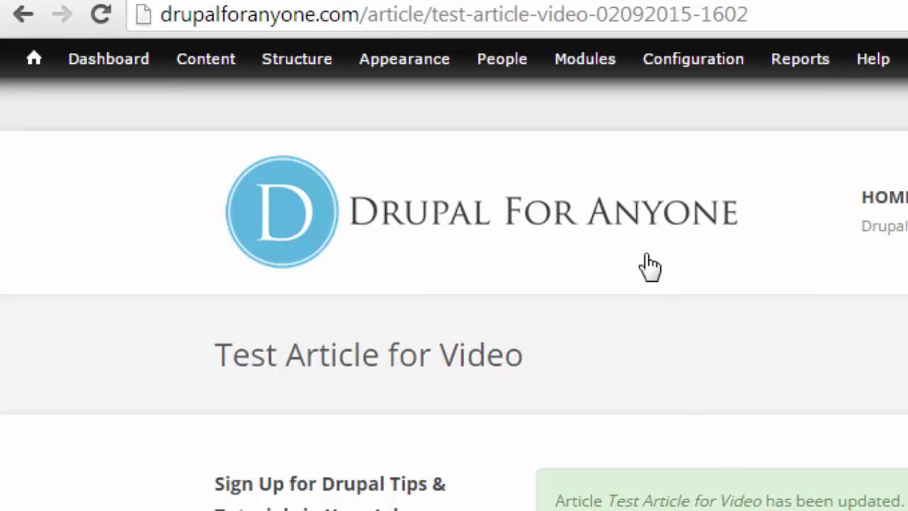 Drupal URL Paths Made Easy: Part 3 - Automatic URL Paths with Pathauto