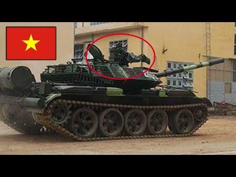 Việt Nam Ra Phiên Bản xe tăng T-55M3 Nâng cấp với khí tài Tự Sản Xuất cực mạnh