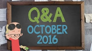Supercharged Q&A: October 2016