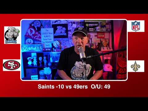 New Orleans Saints vs San Francisco 49ers 11/15/20 NFL Pick and Prediction Sunday Week 10 NFL