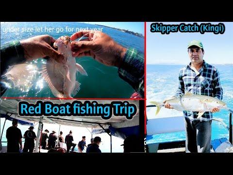 Fishing At Big Sea | Red Boats Fishing Charter | Boat Fishing Auckland | Fishing In Auckland Sea