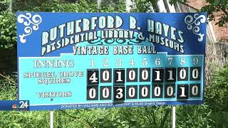 Spiegel Grove Squires Baseball Takes People Back to the 1860s