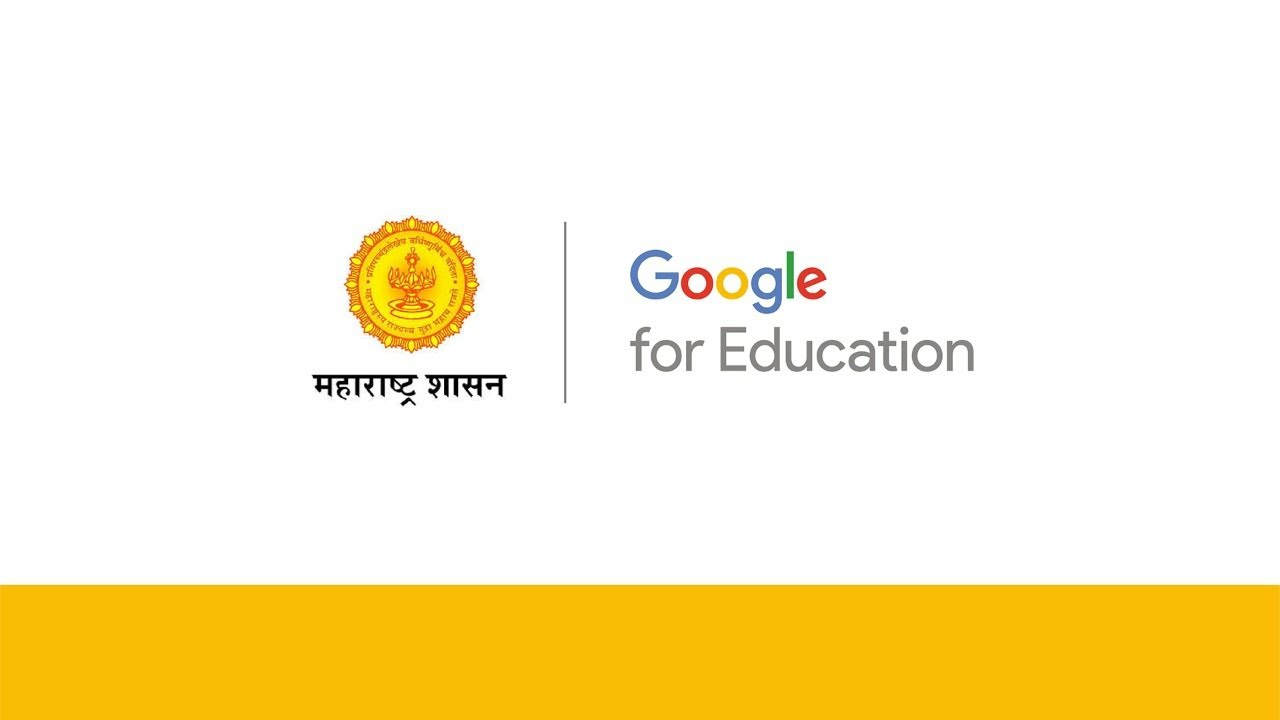 Google for Education announcement with Maharashtra state government