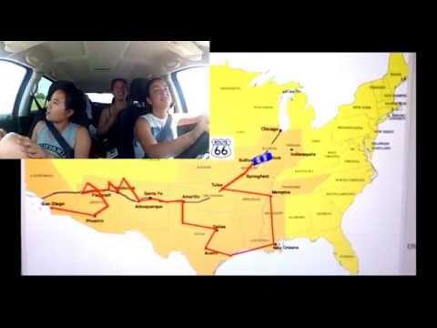 3 girls, 22 Days, Road Trip Across America (San Diego to Chicago)