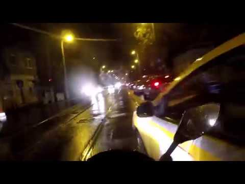 Accident Moto/Taxi -