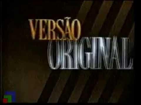 """Vinheta de abertura """"Versão Original"""" - Rede Manchete"""