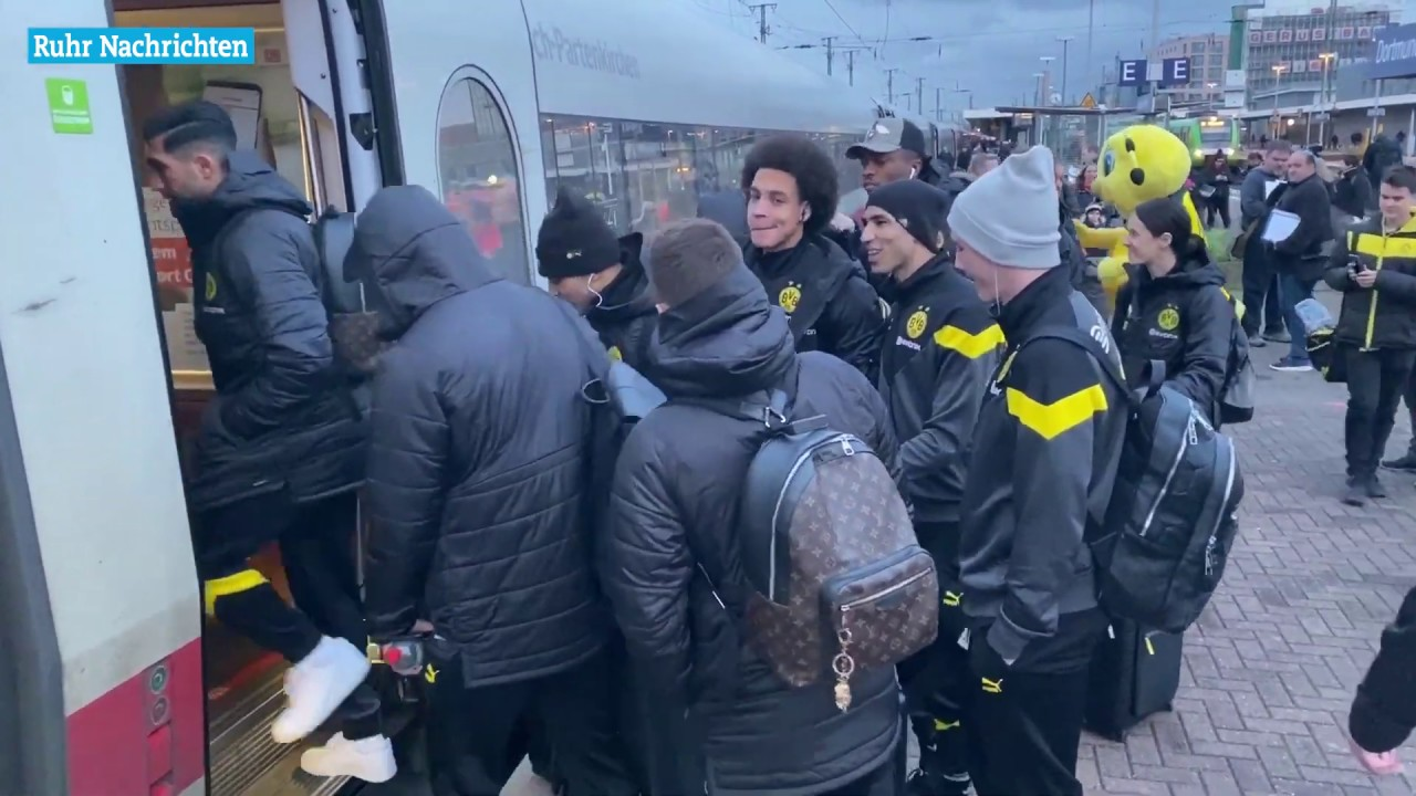 Der BVB mit Emre Can auf dem Weg nach Bremen