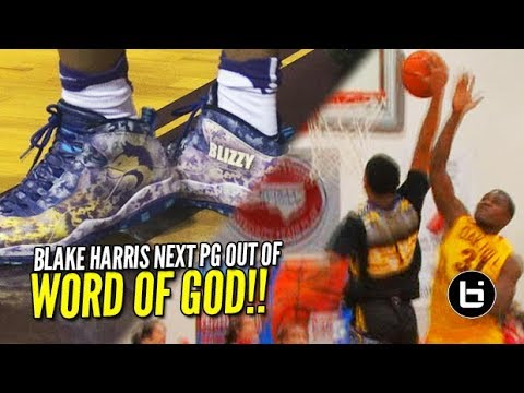 91618dfbf2b4e3 Blake Harris is the Next PG Out of Word of God  Ultimate High School Mixtape