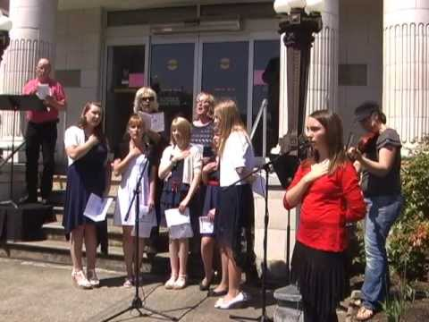 """The Star-Spangled Banner"" by Excel Christian School Choir"
