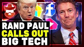Rand Paul BLASTS Big Tech & Shares New Suspicious Voting Data! Mass Vote